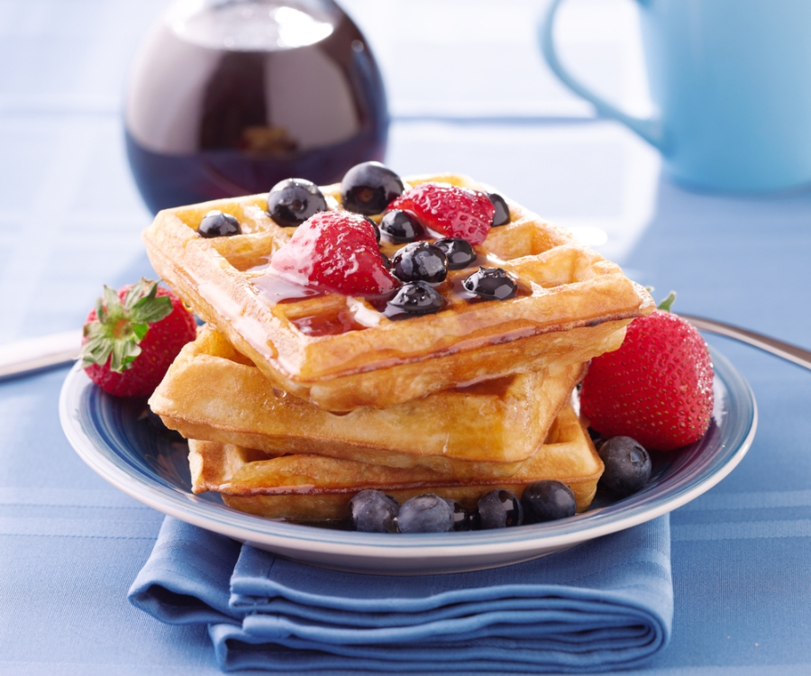 waffles-breakfast