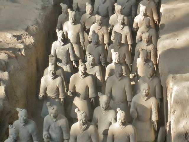 Thousands of Terracotta Warriors have been discovered since a Farmer stumbled upon the site in 1974.