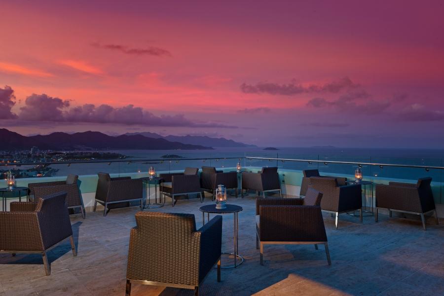 Altitude Bar Terrace - Sunset