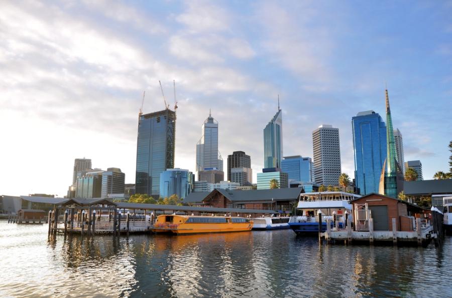 Perth_city_Summer