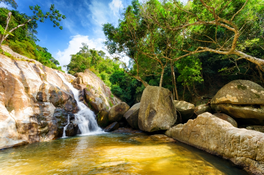 Waterfall-Koh-Samui