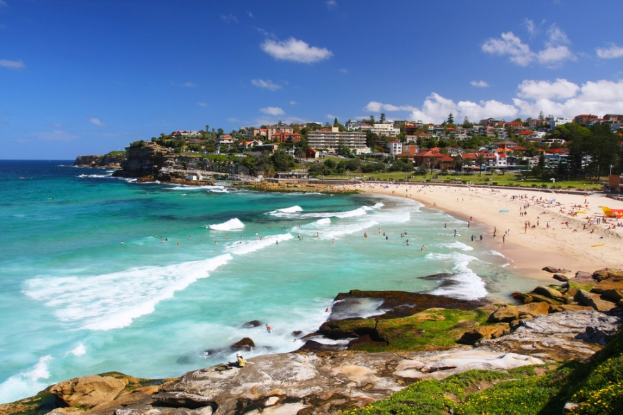 Day trip to Bondi Beach