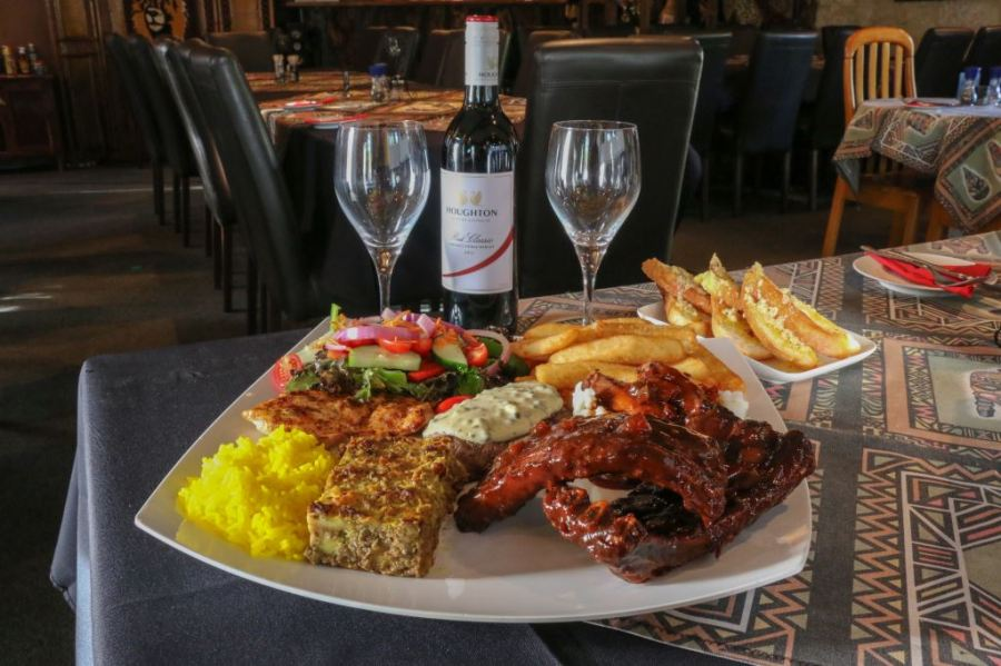 South African Food at Leopard Lodge