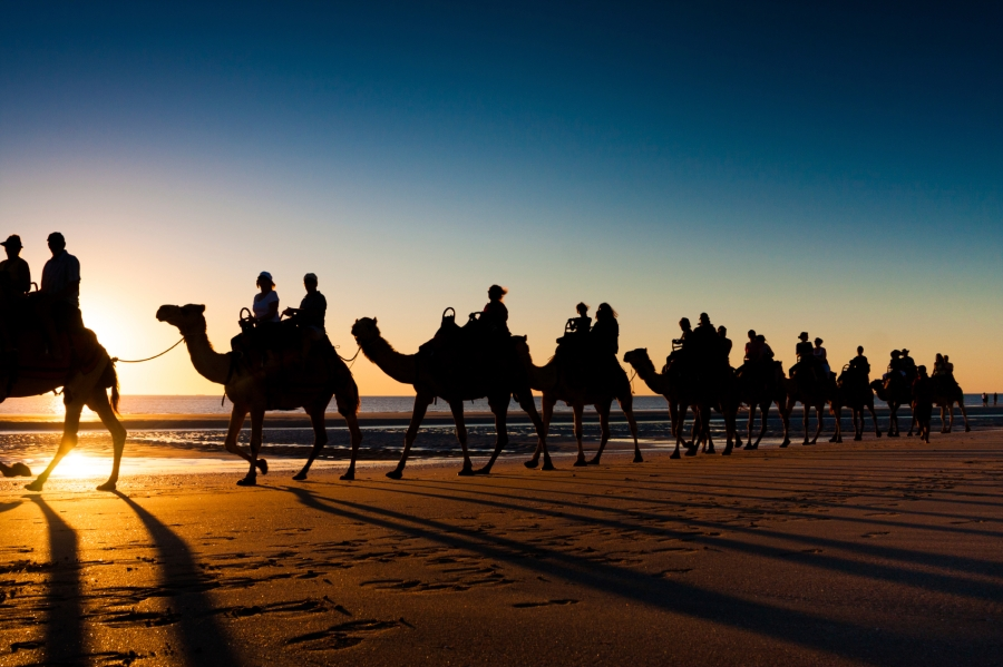 Camel-ride-cable-beach