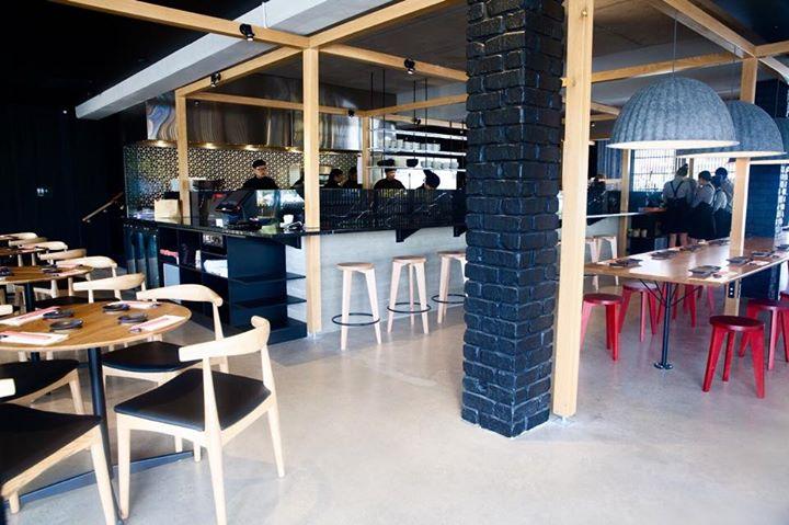 Interior at Sushi Planet