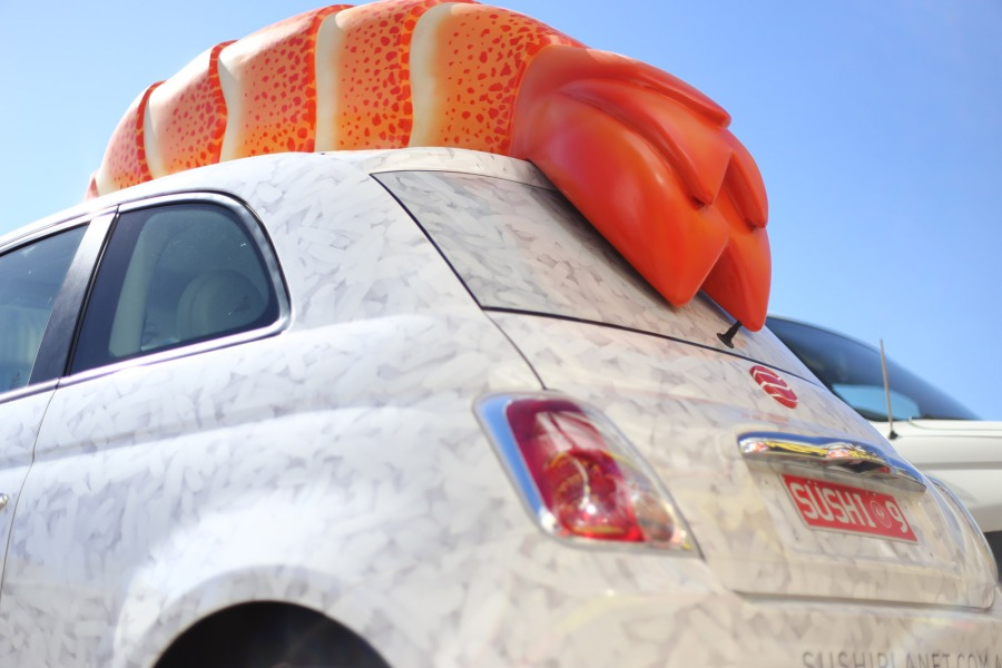 Sushi Shaped Car Sushi Planet