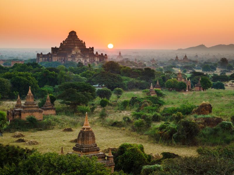 Myanmar-temples