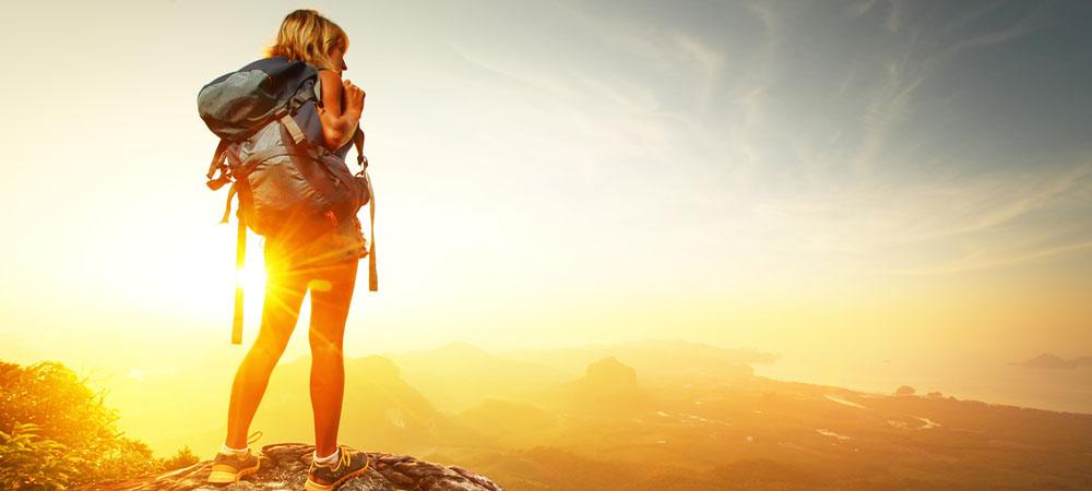 Hiker image