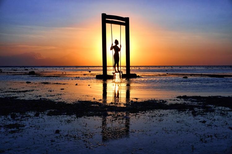 Bali Instagram swing